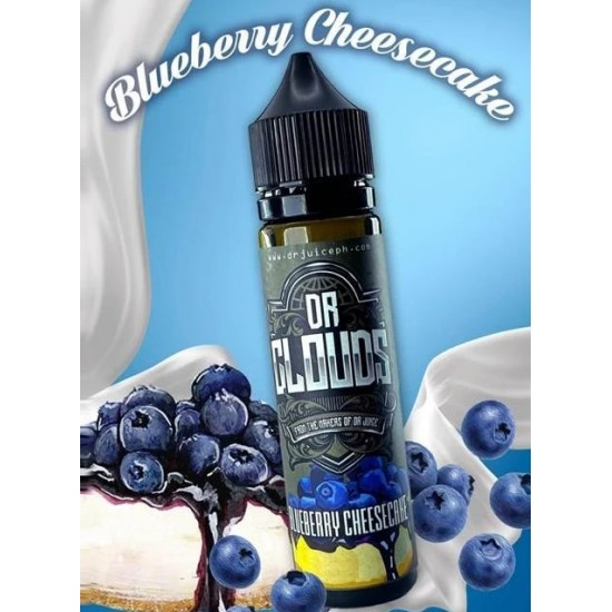 Dr cloud blueberry cheescake